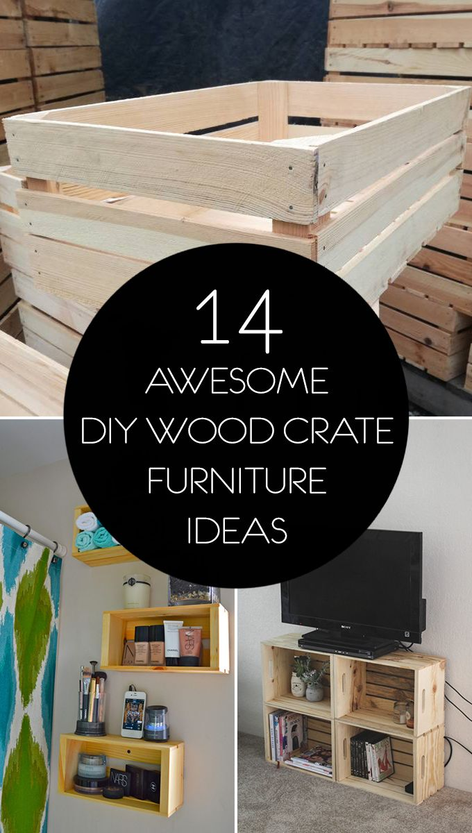 Photo of 14 Awesome DIY Holzkiste Möbel Ideen
