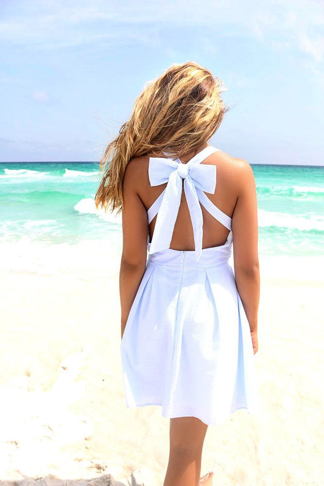 Summer Dress with Bow