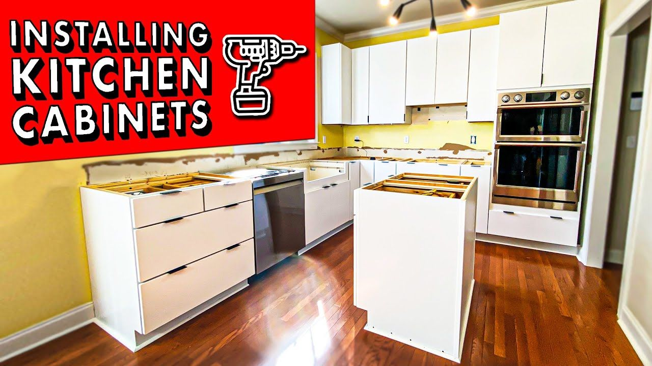 How To Install Kitchen Cabinets And Remove Them Diy Kitchen Remodel Pt 1 Youtube In 2020 Diy Kitchen Remodel Installing Kitchen Cabinets Diy Kitchen