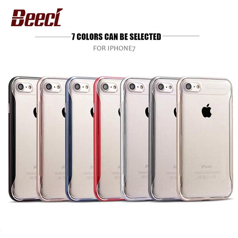Aliexpress Com Buy Beeci Neo Hybrid Case For Iphone 7 Clear Case Soft Tpu 2 In 1 Back Cover Shell Fundas Coque Covers Fo Iphone Cases Iphone 7 Cases Iphone 7