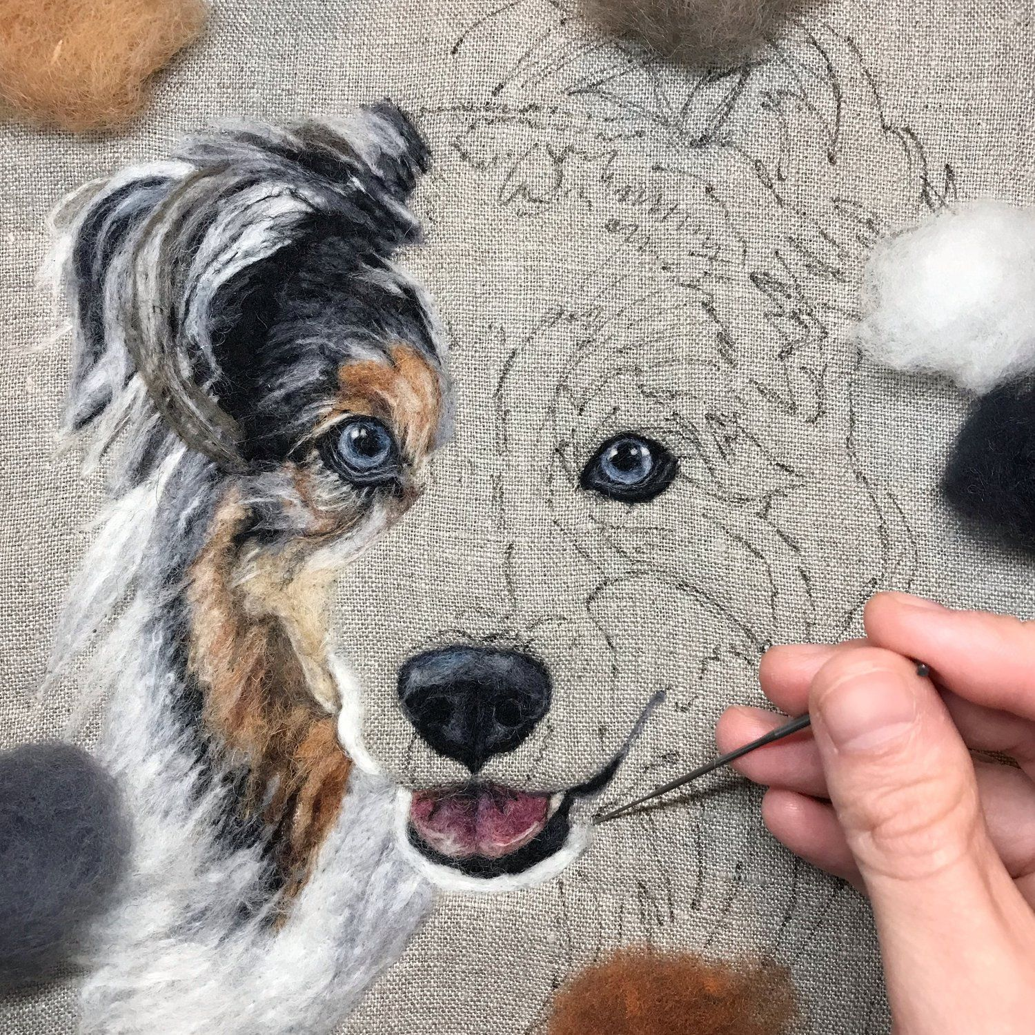 SPECIAL APPEARANCE Painting with Wool Workshop