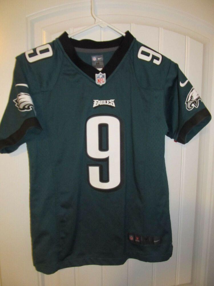 new style 5cf15 fefd6 Nick Foles - Philadelphia #eagles Jersey - Nike Youth Medium ...