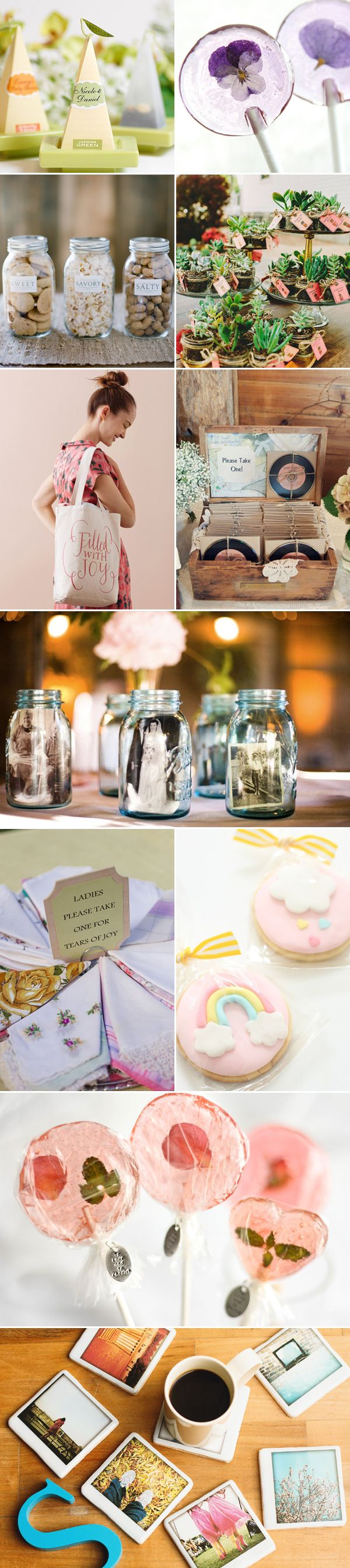 Thinking of giving your guests some fun little favors? Who said wedding favors should all look the same?  We are sure many of you want to prepare personalized favors for your guests, but hand-making hundreds of unique gifts is a little too much work and you probably don't know where to start.  Sometimes it's only …