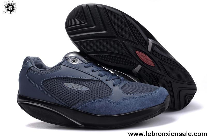 Buy 2013 New MBT Sini Lux Men Navy Shoes Latest Now