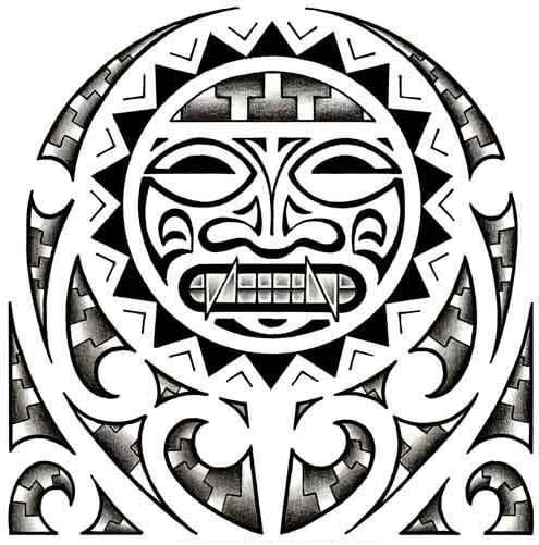 Aztec Tattoo Design - see more designs on http://thebodyisacanvas ...