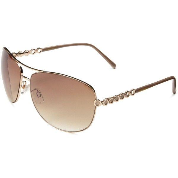 749630712c6 Steve Madden Women s S5139 Aviator Sunglasses ( 39) ❤ liked on Polyvore