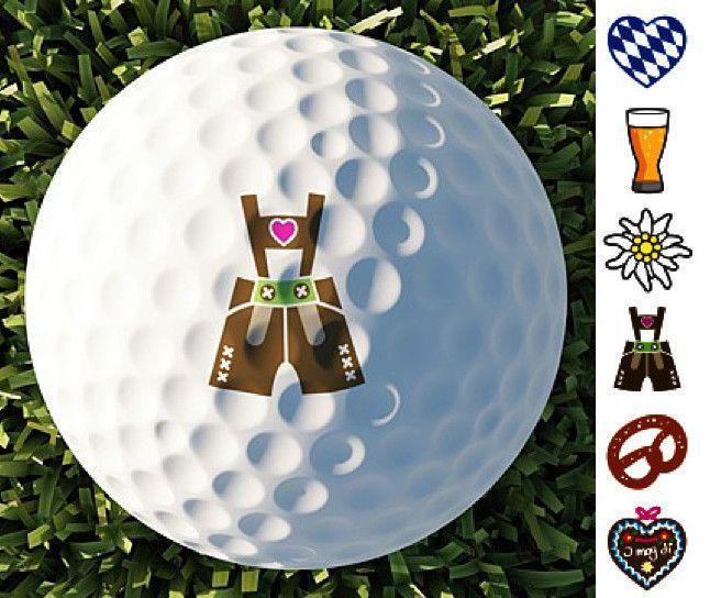 Golfball Tattoos \