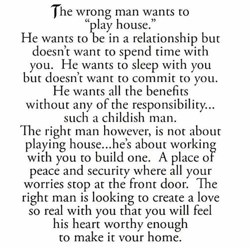 The Right Man Vs The Wrong Man Quotes Quotes Love Quotes