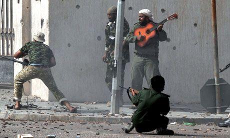 Libya Battle For Central Sirte Wednesday 12 October 2011