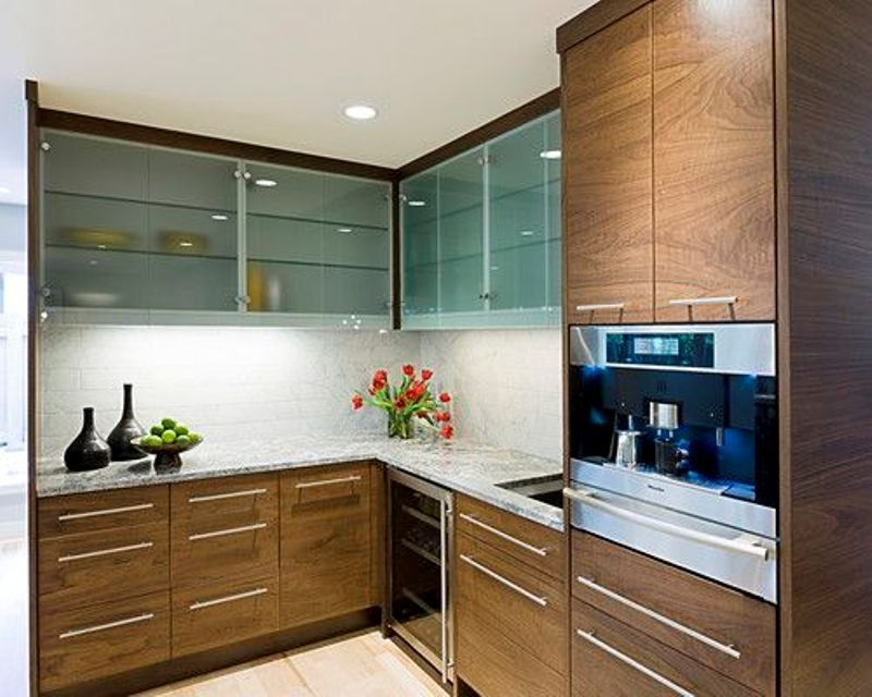 Horizontal Cabinet Pulls Google Search Glass Kitchen Cabinets Glass Kitchen Cabinet Doors Small Kitchen Furniture
