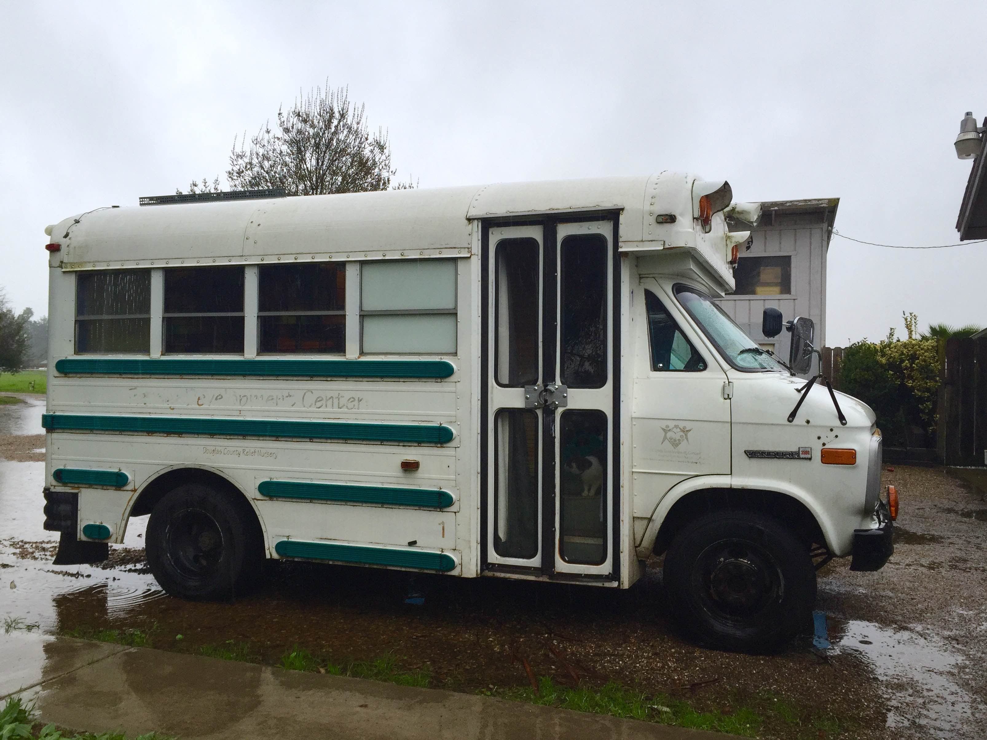 Skoolie sound is the combination of location sound recordist alison grayson and her 1990 gmc vandura mini school bus conversion bessie the land cow