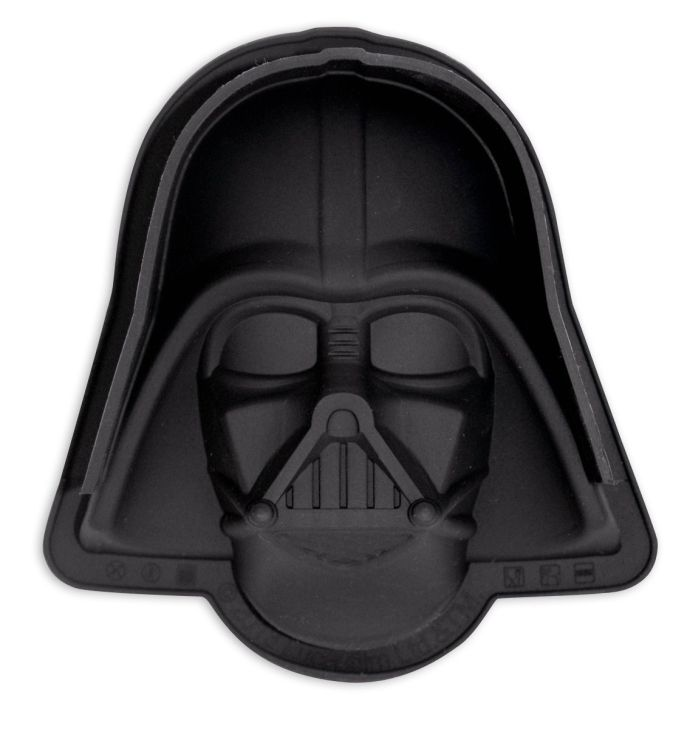 Star Wars cake mold Darth Vader  - Star Wars cake mold Darth Vader Material: 100% Silicone.    link: