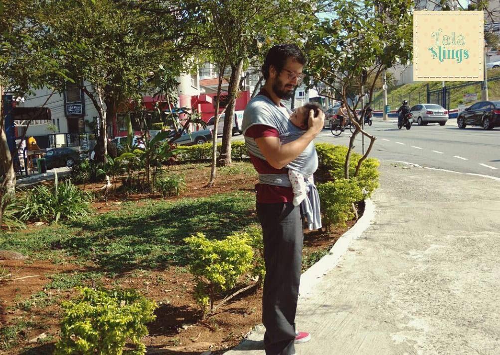 Agosto chegou! Mês dos papais  Obrigada @mavulca pela linda foto do papai chicletando por aí