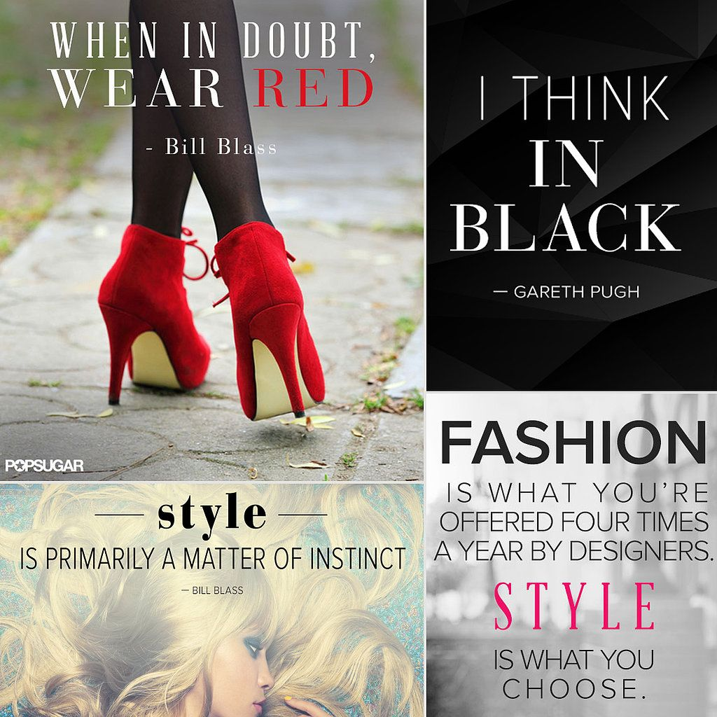 34 Famous Fashion Quotes Perfect For Your Pinterest Board ...