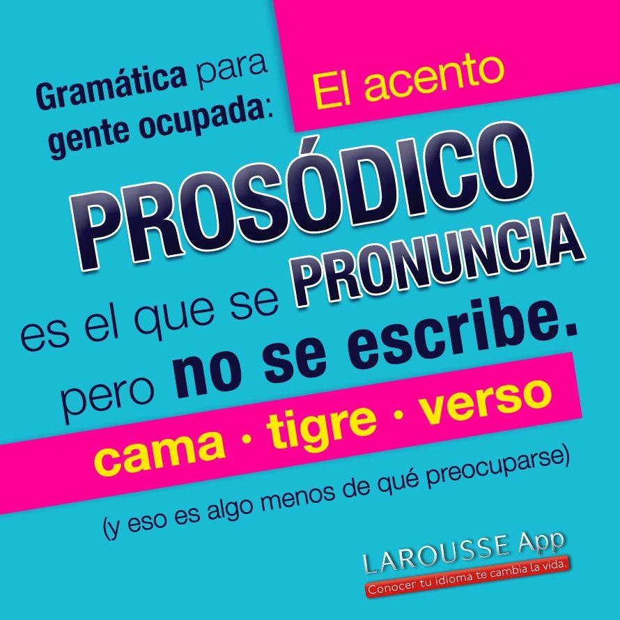Acento prosódico | Estado de coma | Pinterest | Spanish and School