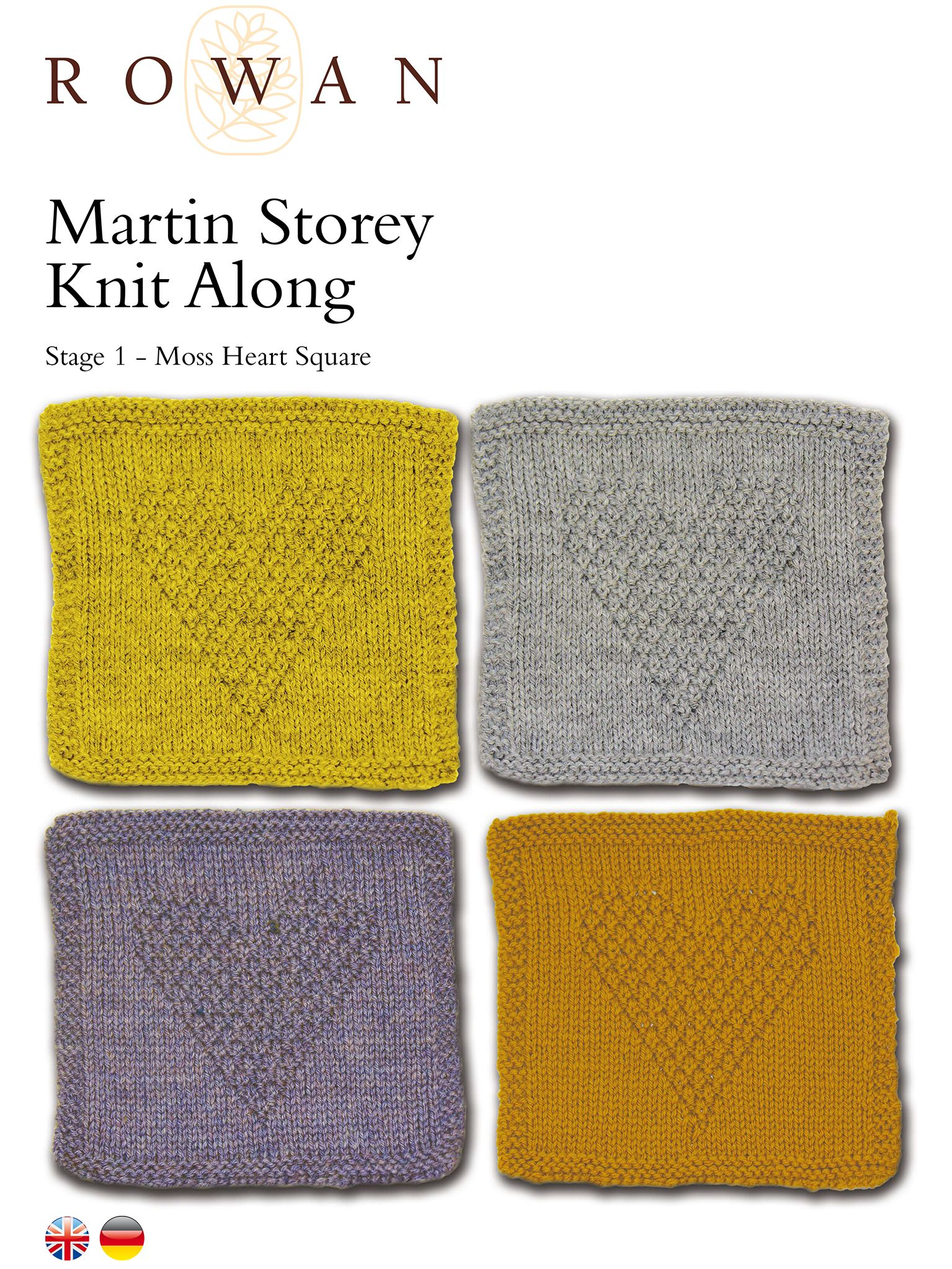 Martin Storey Pure Wool Superwash Worsted Knit Along 2016 Stage 1 ...