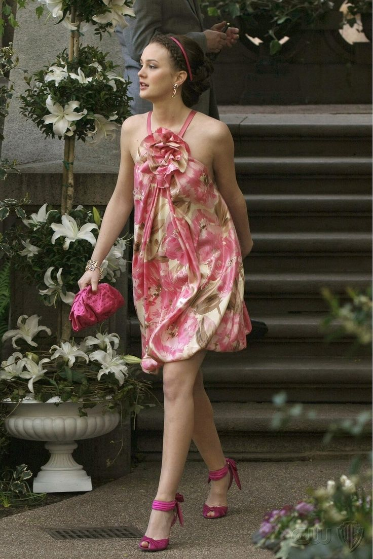 Blair Waldorf Pink Dress Google Search
