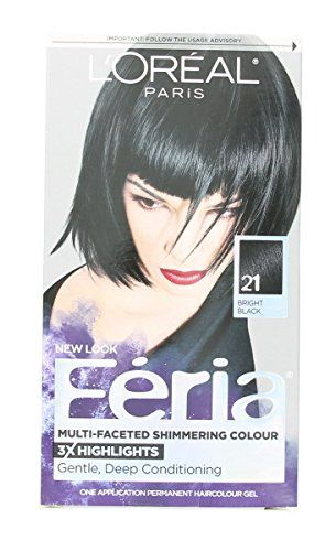 L Oreal Feria Multi Faceted Shimmering Colour Permanent Hair Color