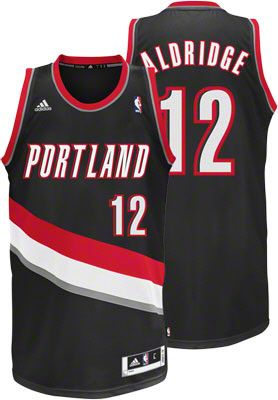LaMarcus Aldridge Black adidas Revolution 30 Swingman Portland Trail  Blazers Jersey - L -  79.99 6a979a4e3
