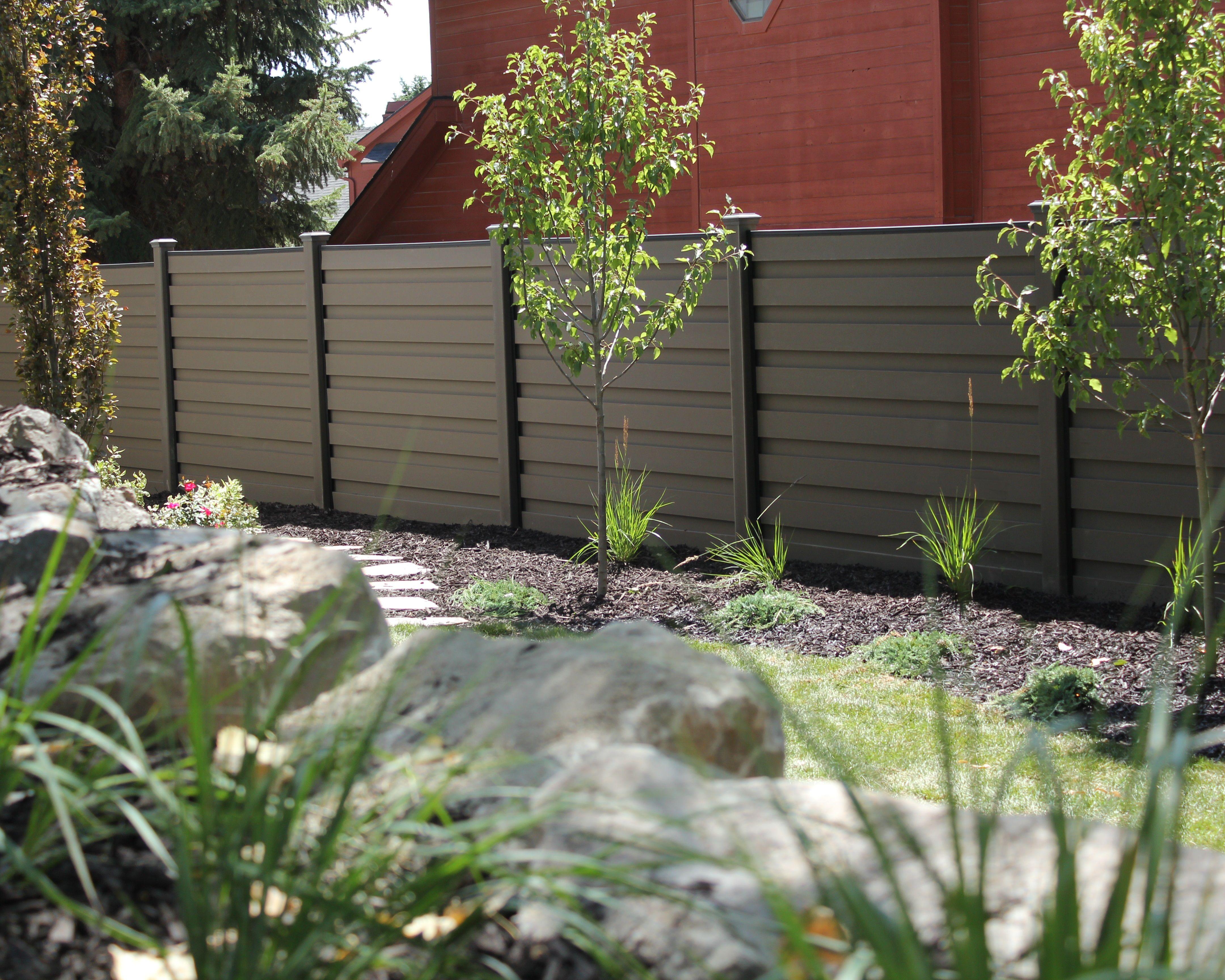 Trex Horizons Horizontal Fencing Trex Fencing Fence Design Composite Fencing