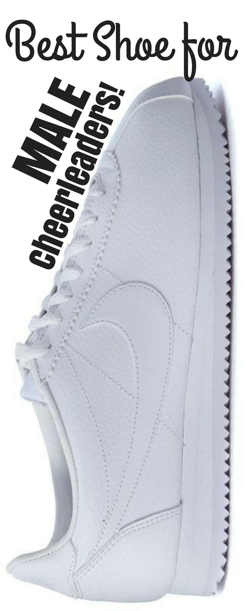 Nike Cortez. Male cheerleading shoe. Co