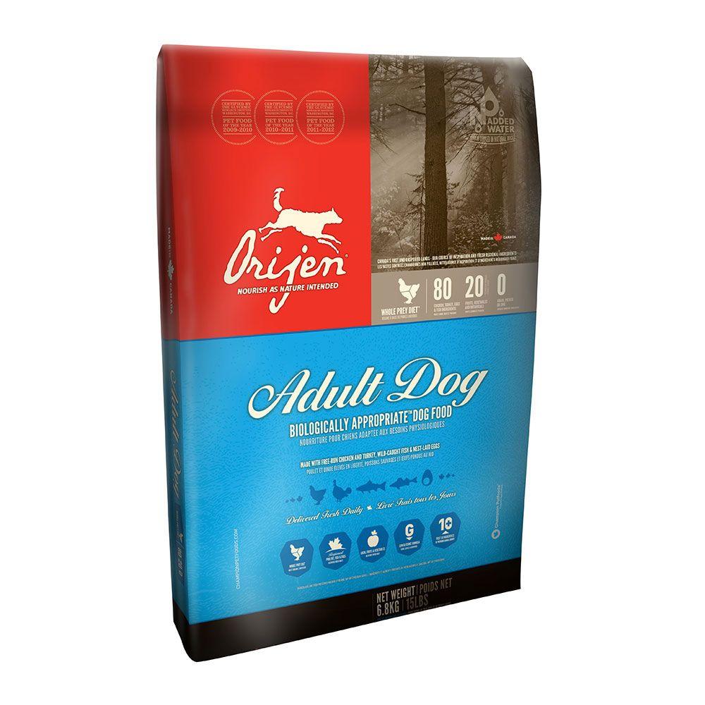 Orijen adult dog food free shipping at petsolutions