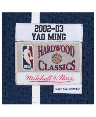 d818a746623 Mitchell & Ness Men's Yao Ming Houston Rockets Hardwood Classic Swingman  Jersey - Blue XXL