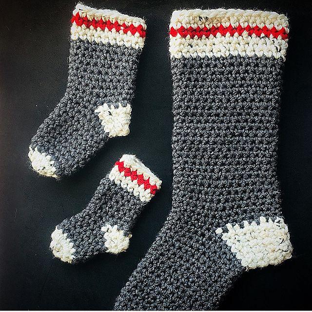 5feb68b59e0e5 Ravelry  Easy Peasy Lumberjack Socks pattern by Shari Reid