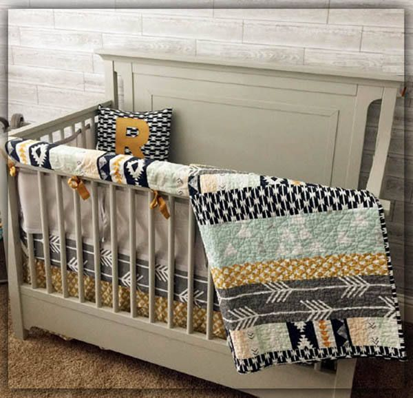 The Noah Collection Rustic Crib Bedding Baby Bedding Boy Crib Bedding Boy Crib Bedding Sets Woodland Baby Bedding