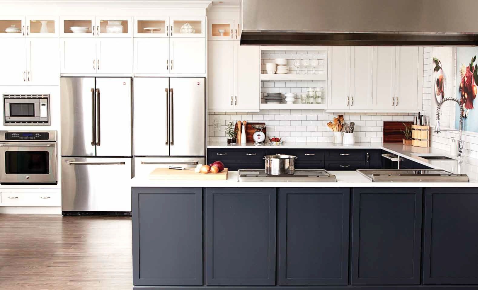 Our big chatelaine kitchen makeover reveal subway tiles grout