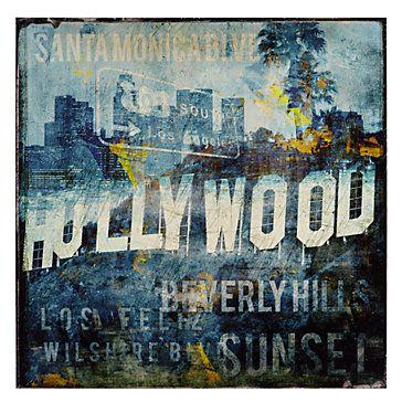 Hollywood Land | Pinterest | Type art, Office art and Flats