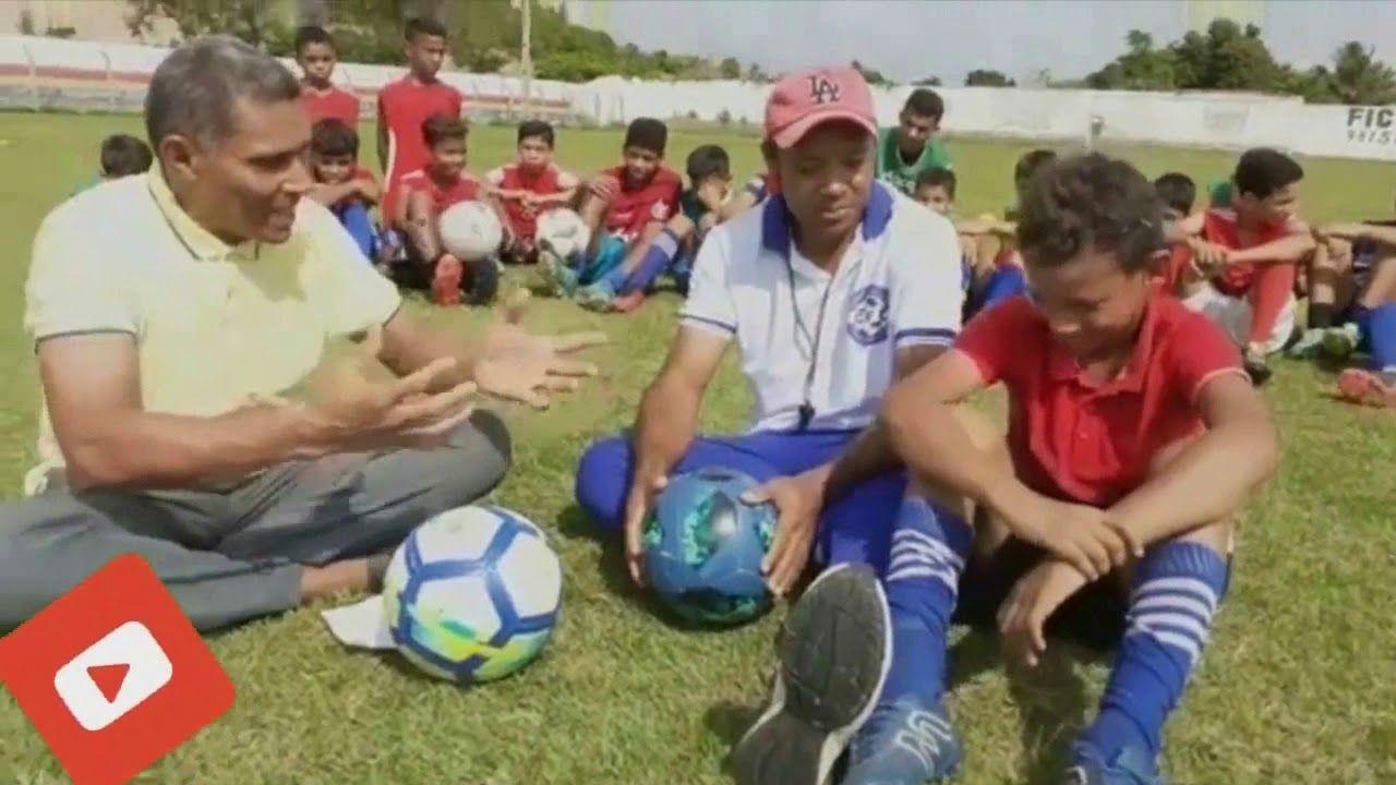Riquelme o garoto revelação da escolinha de futebol CFC de