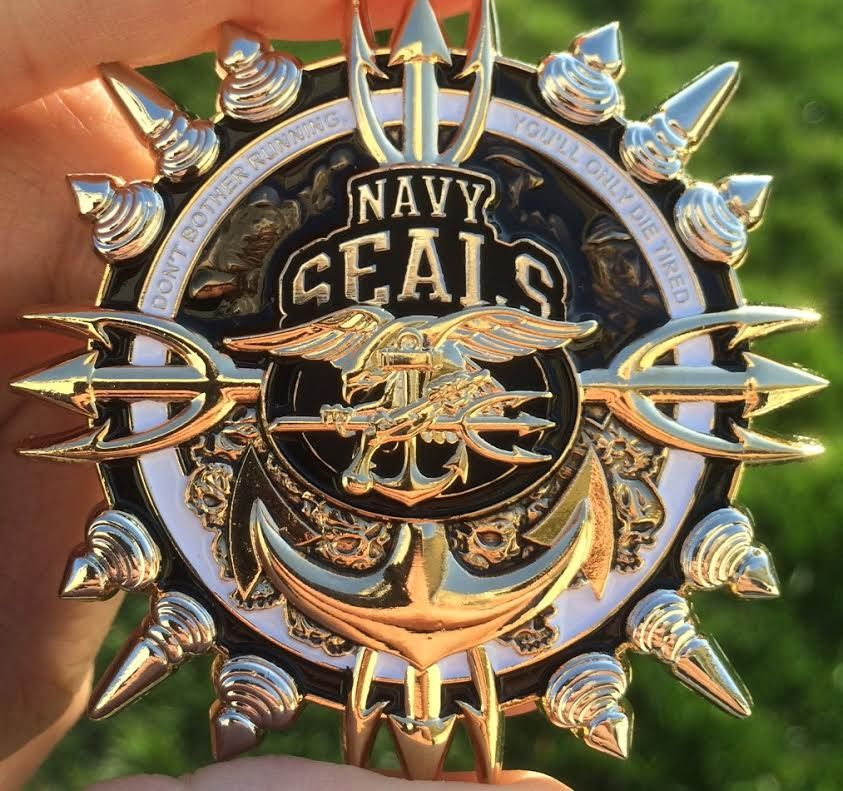 Navy Seals Cpo Challenge Coin Stash Pinterest