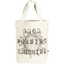 Life is good® Canvas Tote Bag in Sunshine - Closeouts