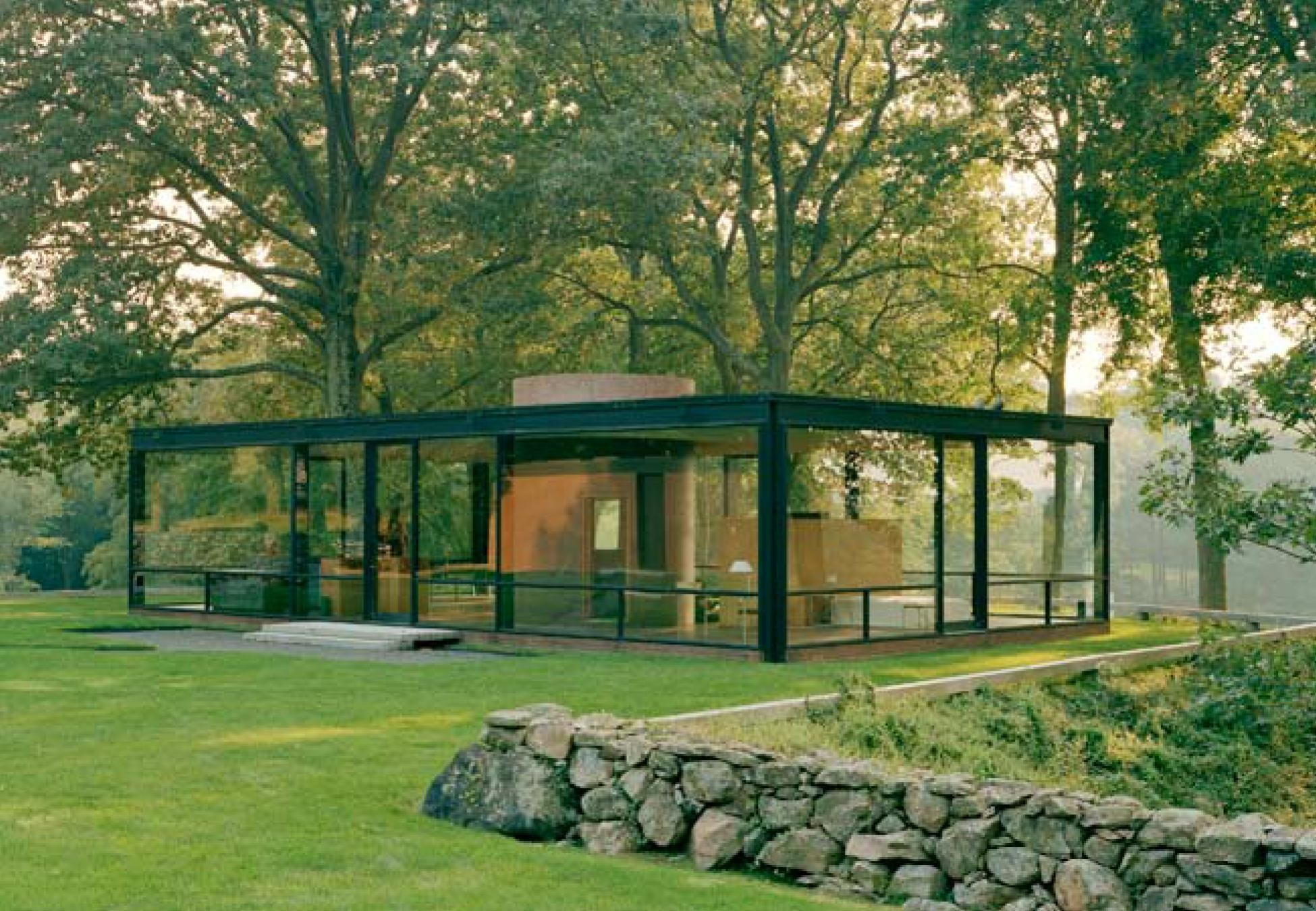 1000+ images about Blissful xpeditions: he Glass House by Philip ... - ^