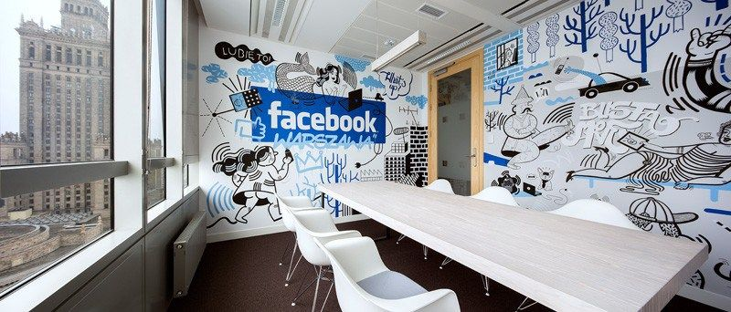 Facebook Office Interior