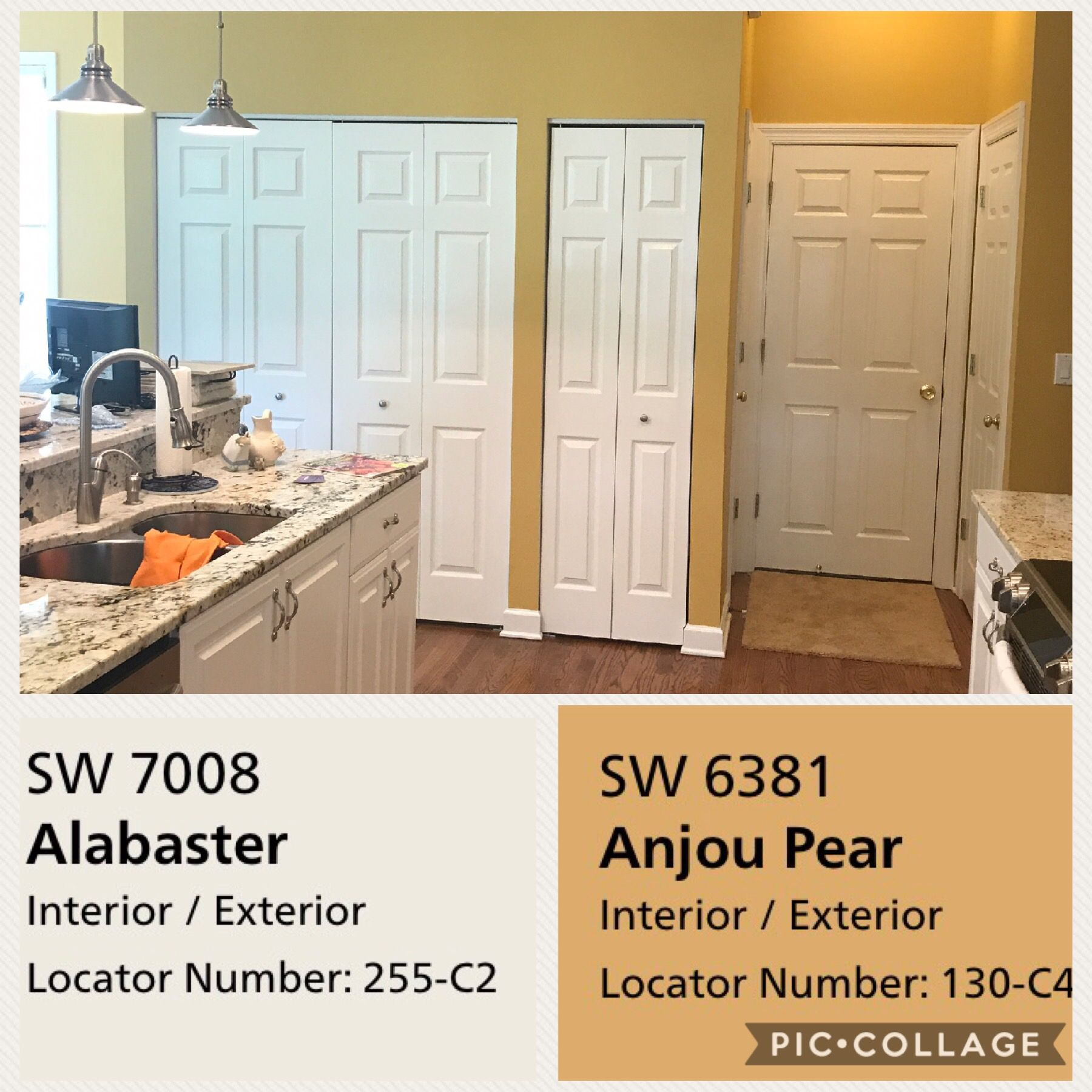 Sherwin Williams Alabaster Love The Color This Layout Is Probably