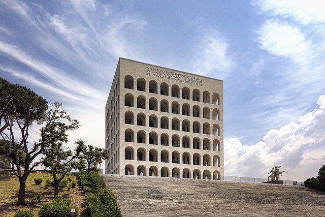 Modern Architecture Rome palazzo della civilta italiana | architecture and modern architecture
