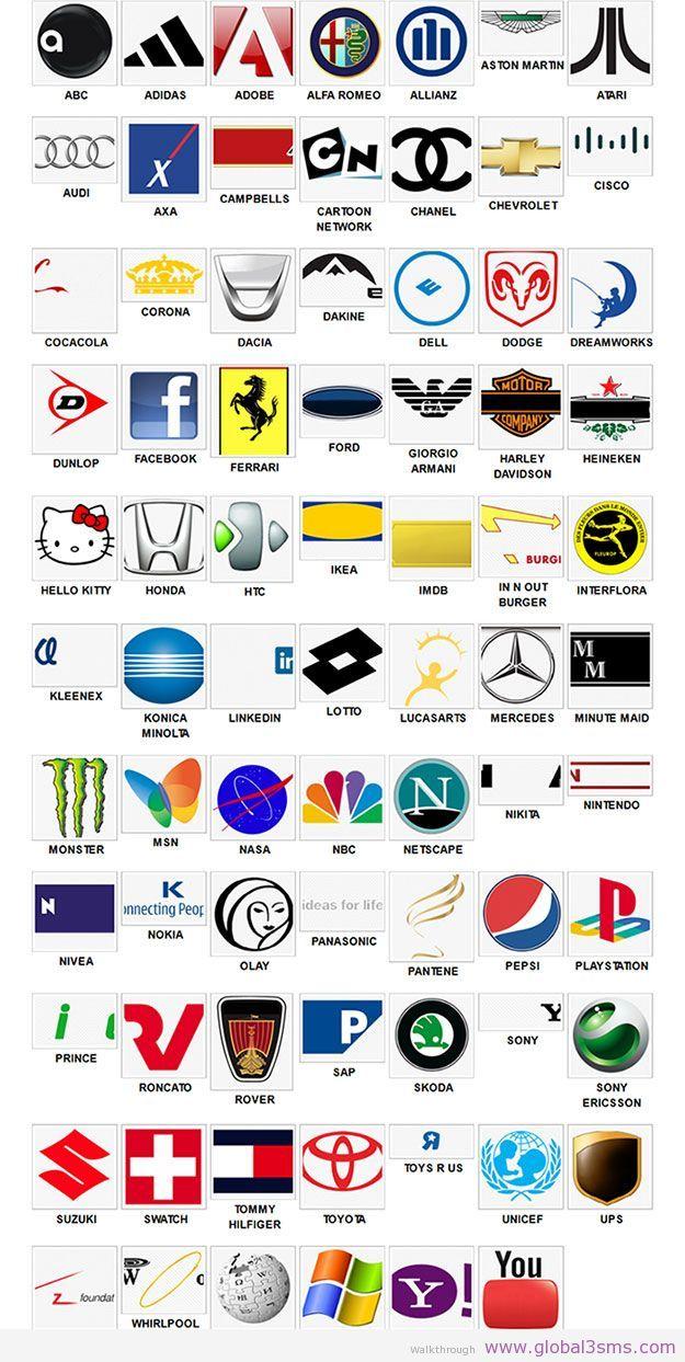 Logo Quiz Respuestas : respuestas, Logos, (http://aticod.com/portfolio/logosQuiz/), Game..., Helps, Become, Better, Capitalist., Answers,, Quiz,, Answers