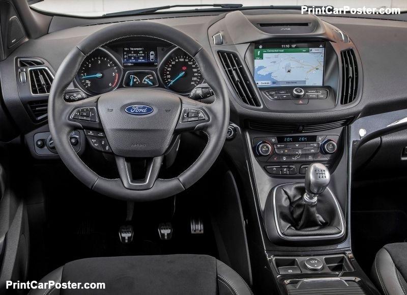 Ford Kuga 2017 Poster Neue Wege