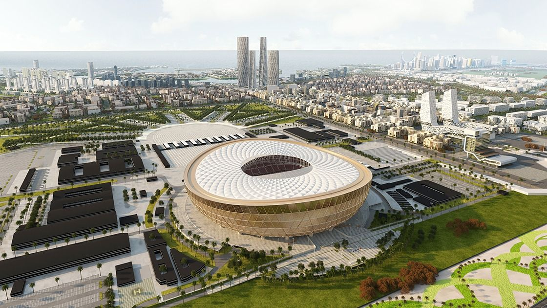 Gallery Of Foster Partners Design A Glittering Stadium For Qatar S 2022 World Cup 6 Leeds World Cup Việt Nam
