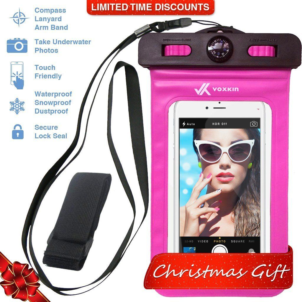 PREMIUM QUALITY ] Universal Waterproof Phone Holder with