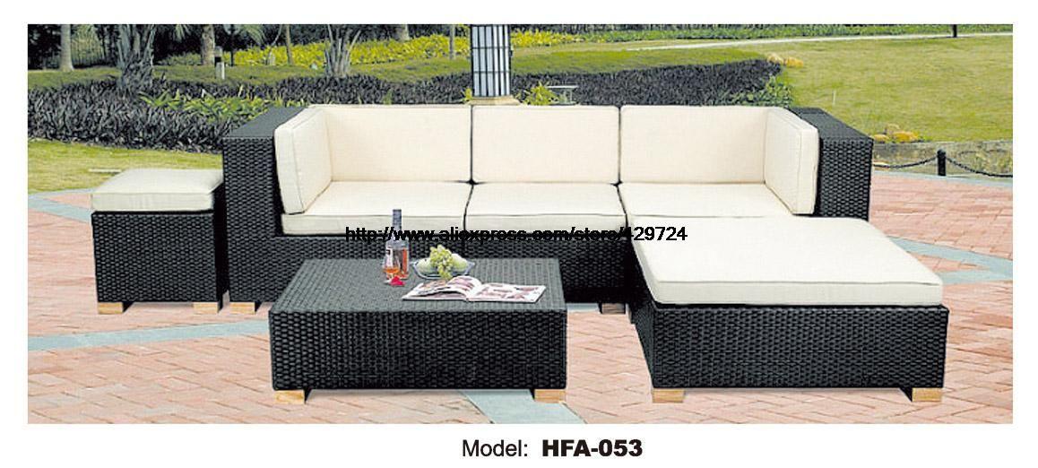 Classic Outdoor L Shaped Sofa Healthy Pe Rattan Hot Sale Garden Vine Balcony Rattan Sofa Whole Set Inc Outdoor Furniture Style Cushions On Sofa Classic Outdoor