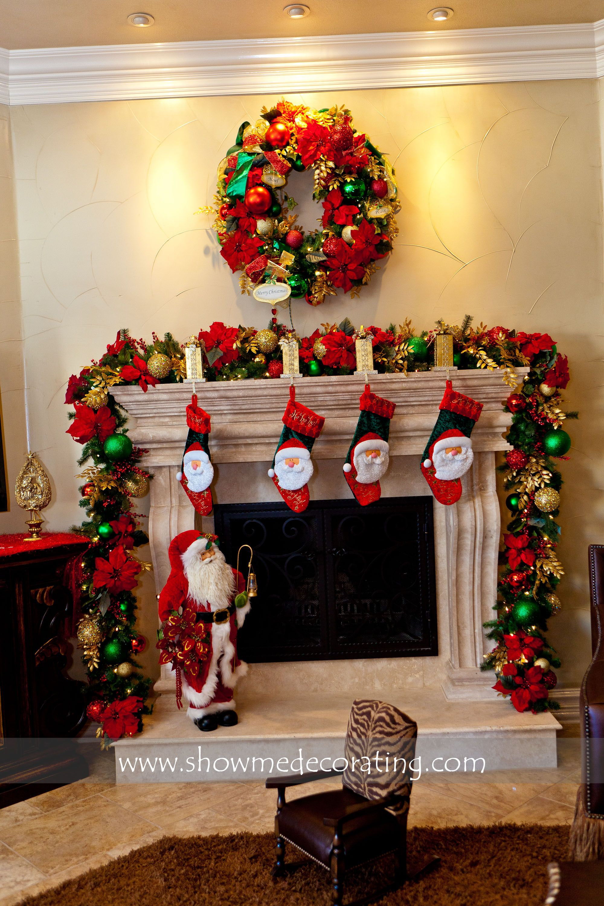 The stockings were hung by the chimney with care A fun Christmas