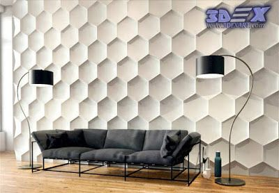 3d decorative wall panels and covering, Modern 3d wall panels ...