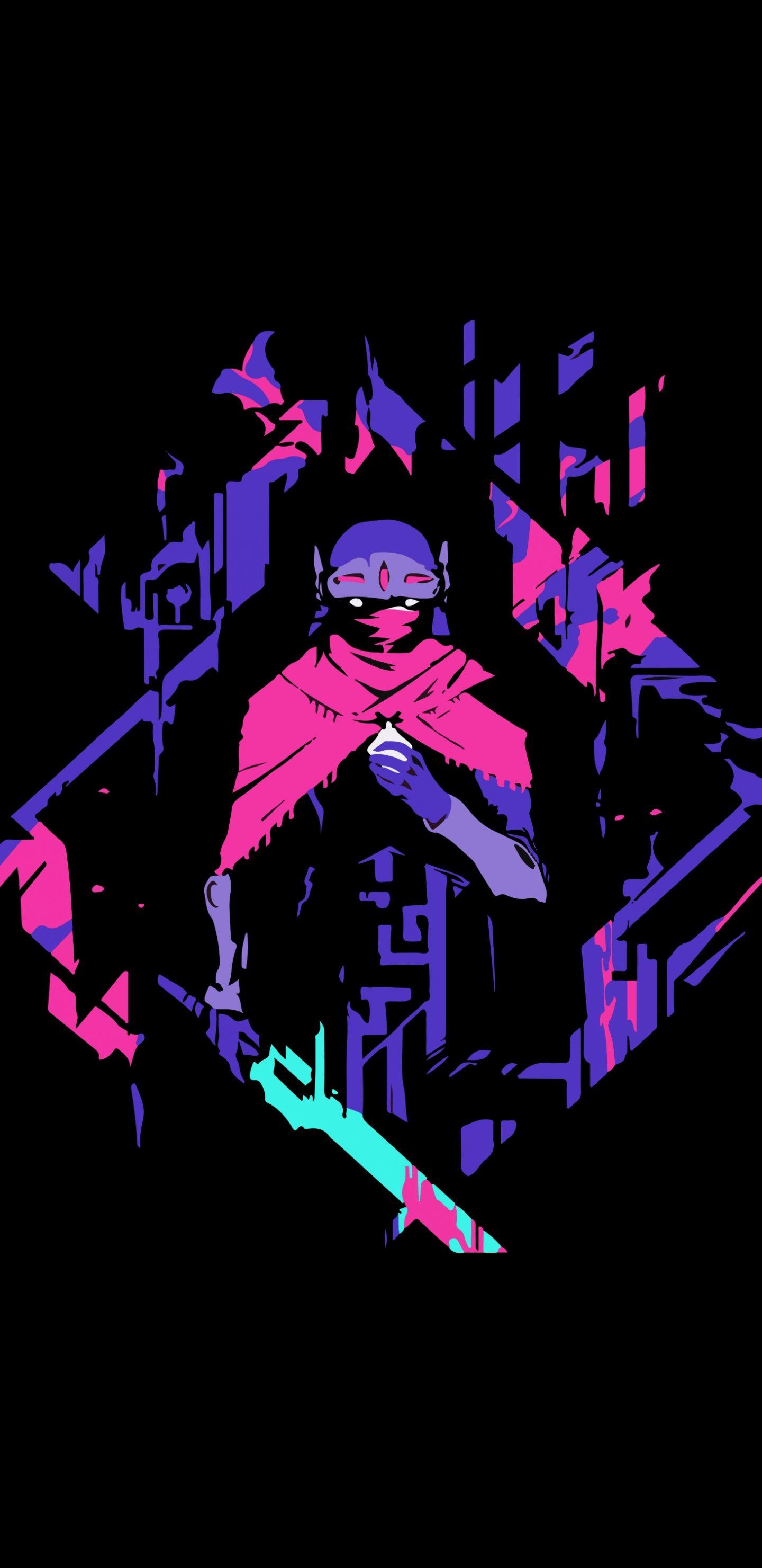 1440x2960 Hyper Light Drifter Minimal Computer Game Wallpaper Hyper Light Drifter Wallpaper Pixel Art Destiny Wallpaper Hd