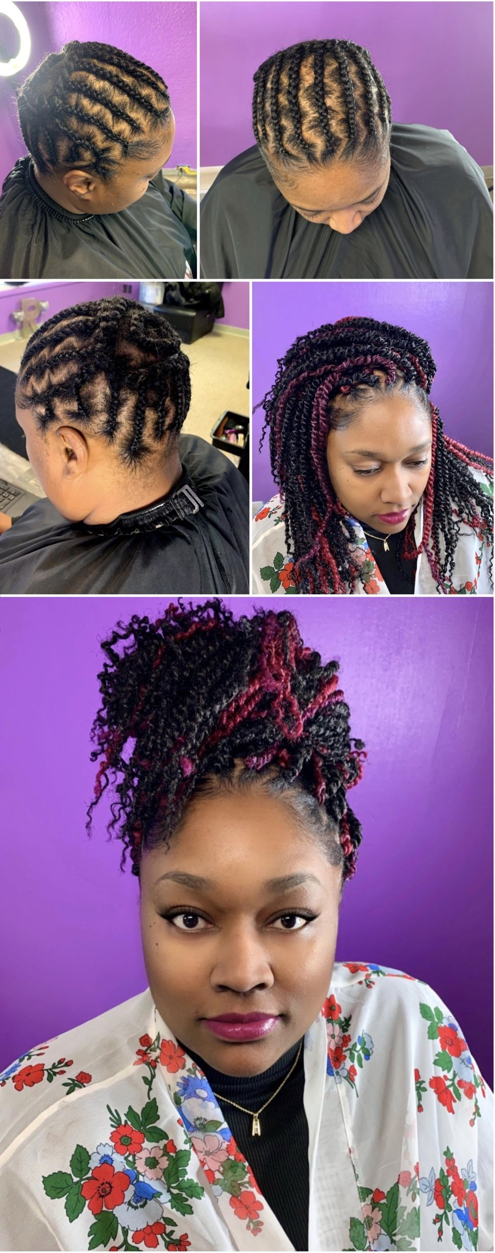 Mayde Passiontwists Braided Foundation For Ponytail Crochet Braid Pattern Beauty Can Braid Crotchet Braids