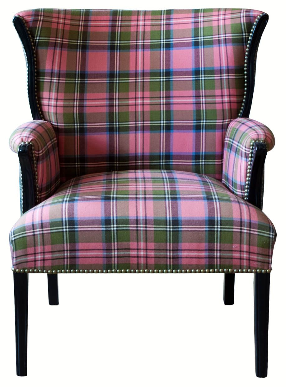 Vintage Tartan Plaid Chair From House Of Honey