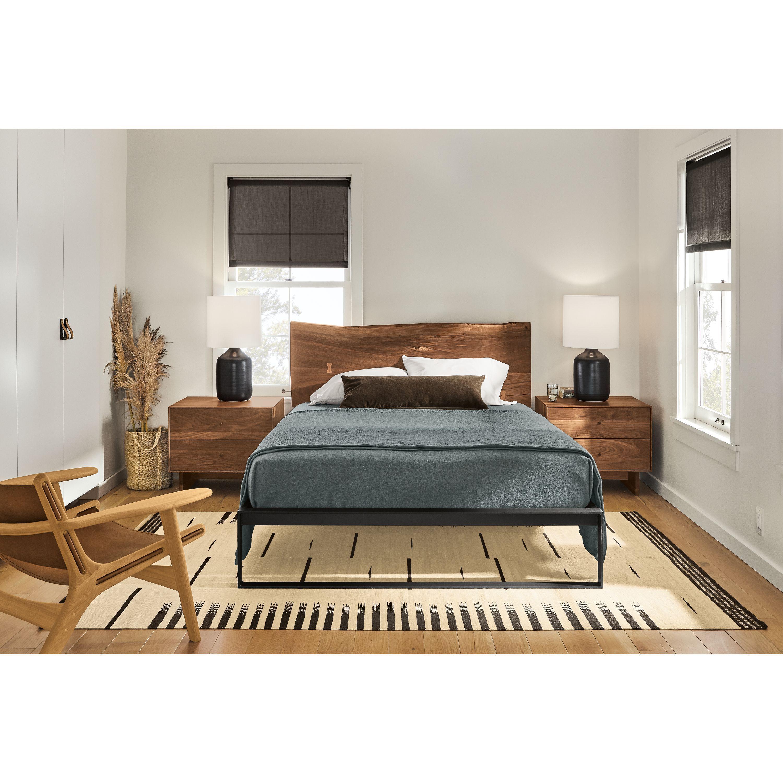 Room & Board | Chilton Bed in Walnut | Modern bedroom ...
