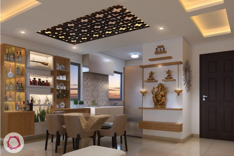 Wooden Ceilings Ideas You Will Love Pooja Room Design